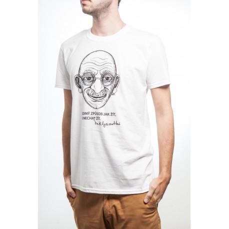 Pánské tričko Gándí
