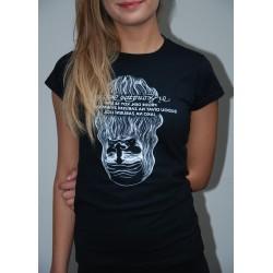 Dámské tričko Leonardo černé